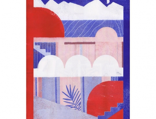 Riso Poster from Clubhouse No 4 with @coloramaprint…
