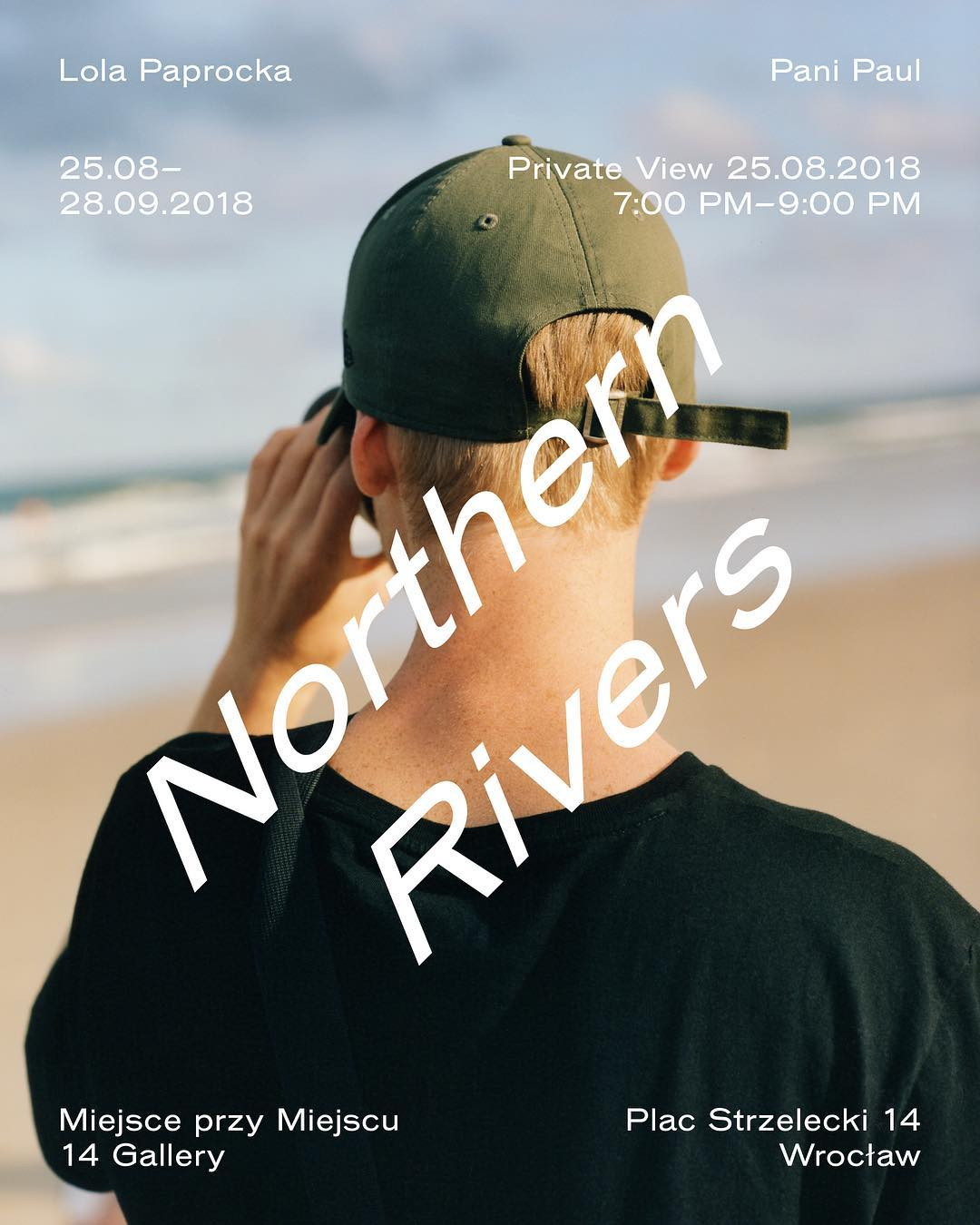 """Our project """"Northern Rivers"""" opens 25th of August at @miejsce_przy_miejscu_14 a..."""