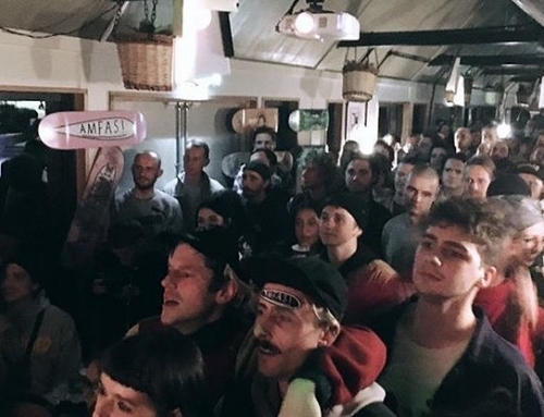 Thanks to everyone who came to the @amfasskateboards launch!! @thepilcrowpub on …