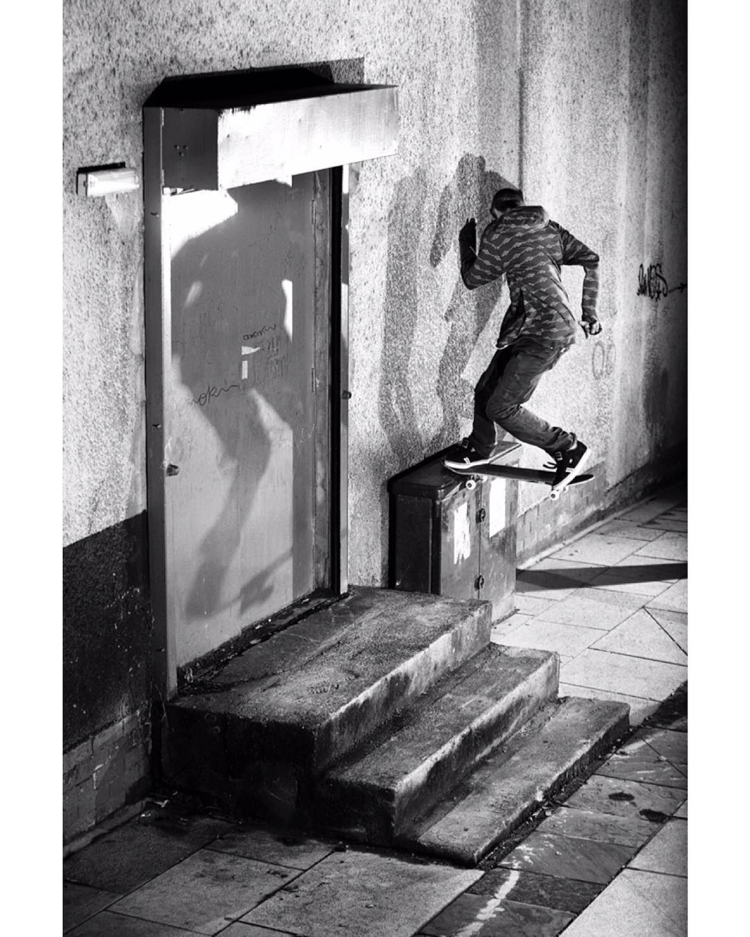 @nick_stannerz 10 years ago in Wales whilst on an @emerica tour. This spot was i...
