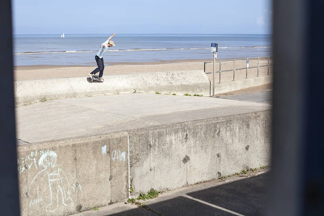 Happy Birthday Tom Day! Nose manual by the sea from a while back....