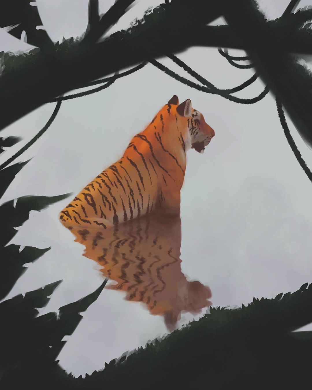 Because we all love tigers. Big cats are great!...