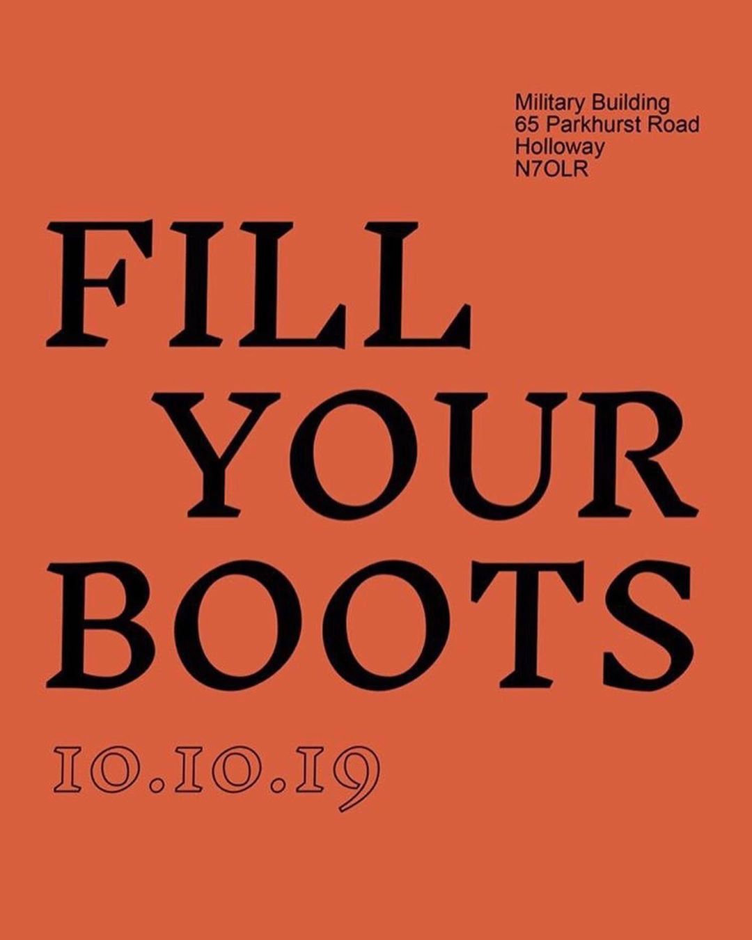 New work on display for 'Fill Your Boots' in Holloway tomorrow evening, 4 wan ni...