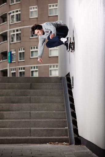 Jarne Verbruggen Wallride Face On