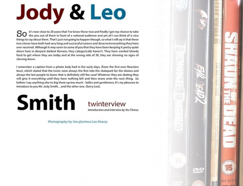 • Happy Birthday to these two identical humans. • @leosmith and @mrjodysmith Sid…