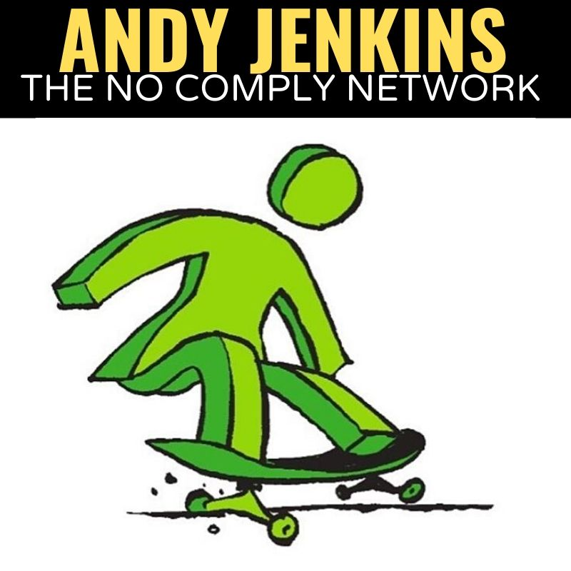 Andy Jenkins The No Comply Network Graphic