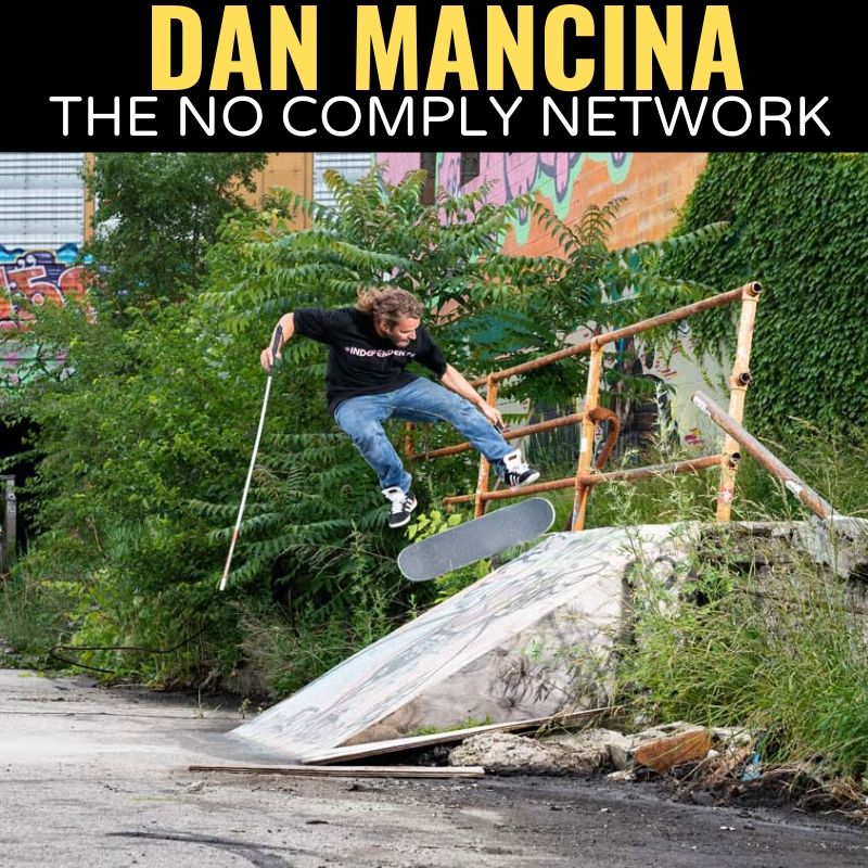 Dan Mancina The No Comply Network Graphic