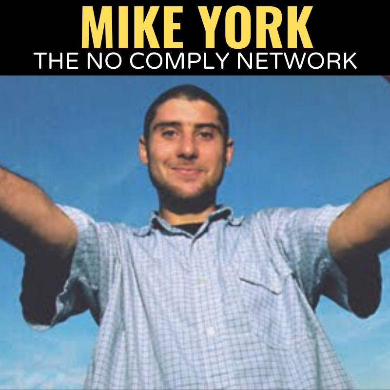Mike York The No Comply Network Graphic