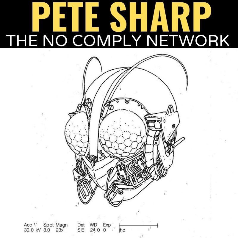 Pete Sharp The No Comply Network Graphic