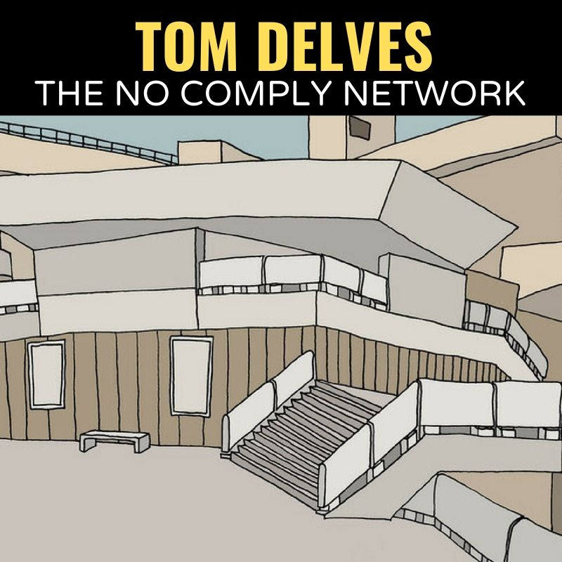 Tom Delves The No Comply Network Graphic